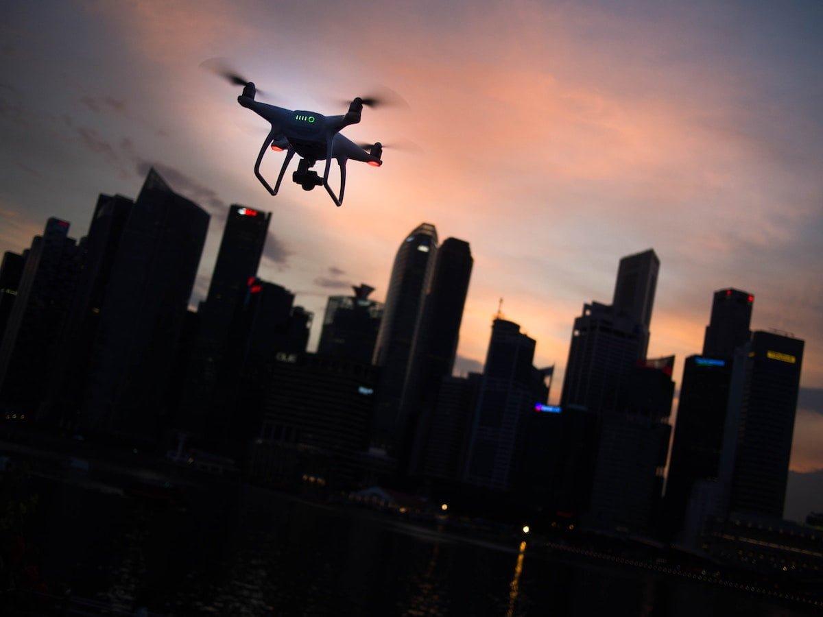 tıbbi malzemelerin drone ile teslimatı