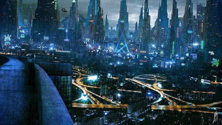 fütüristik şehir