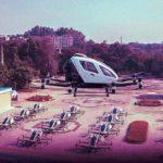 ehang uçan taksi drone
