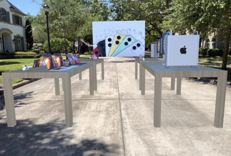 apple sanal gerçeklik mağaza
