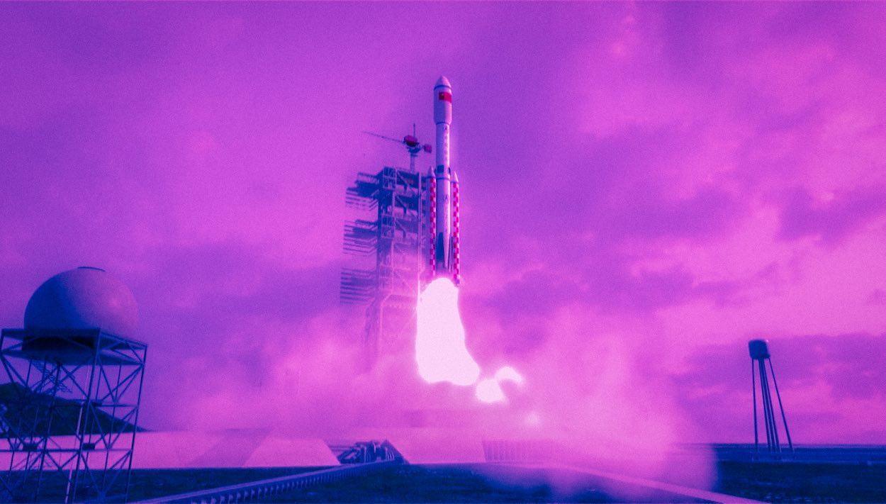 çin uzay aracı roket testi