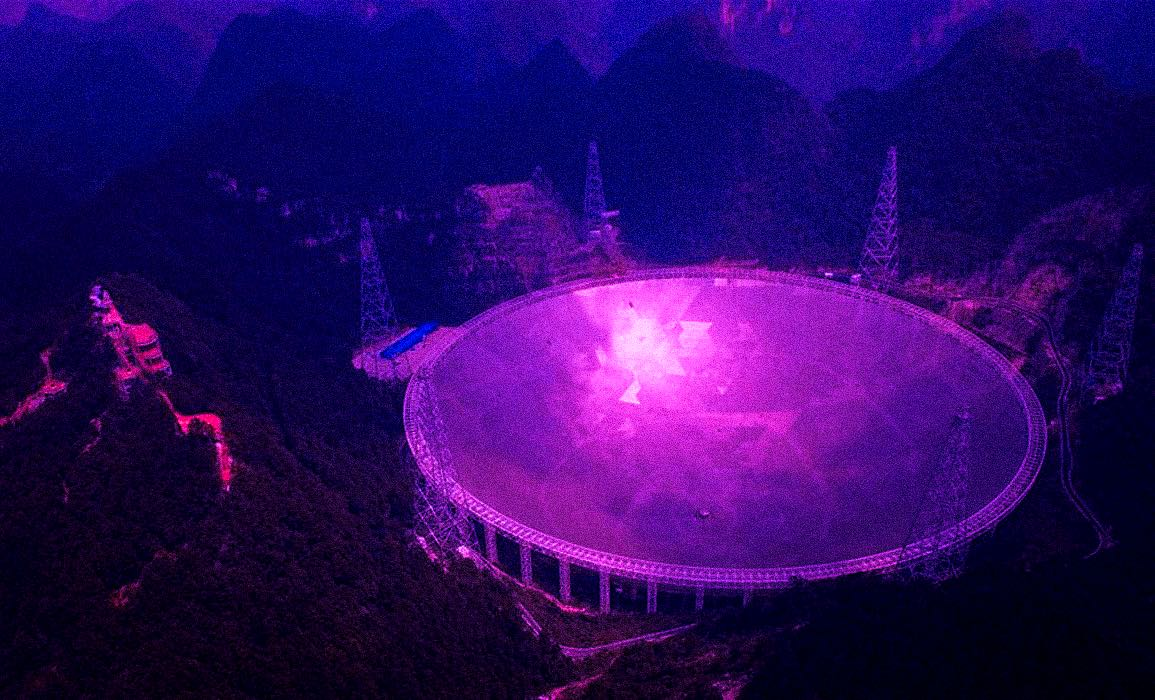 Çin teleskop uzaylı dünya dışı varlık