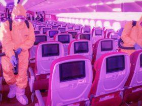coronavirüs pandemi sırasında uçuş uçak