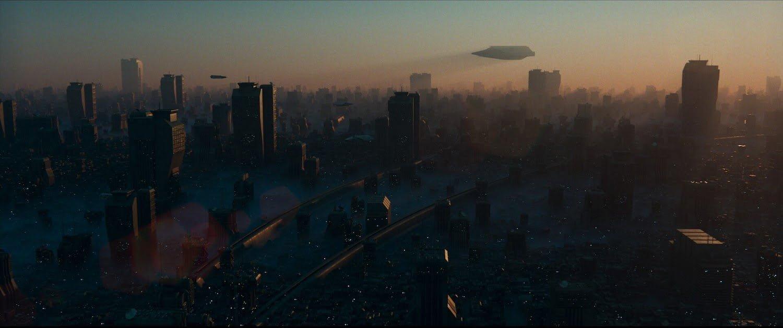 cyberpunk şehir görseli