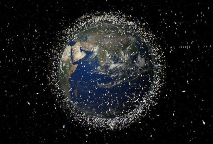 uzay çöp sorunu uzay çöpü çöplüğü