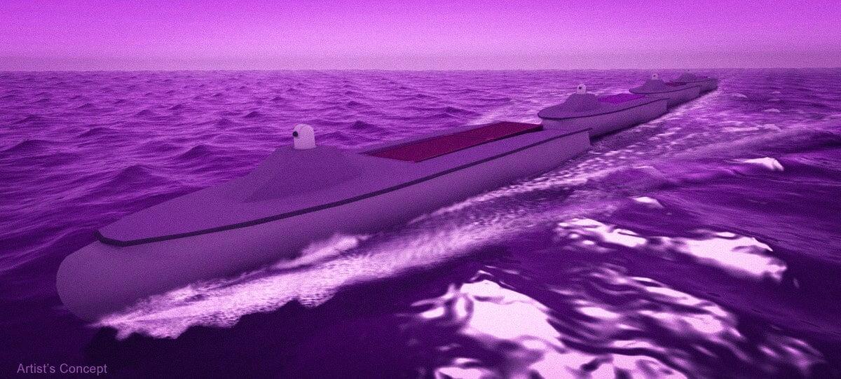 abd donanması insansız deniz treni