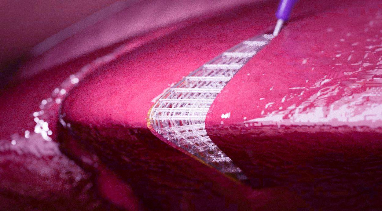deri altı doku baskısı 3d yazıcı