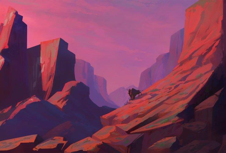 doğa kırmızı kanyon