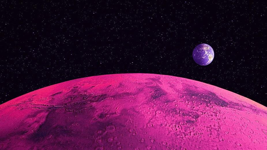 mars dünya