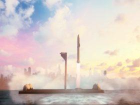 spacex deniz platformu