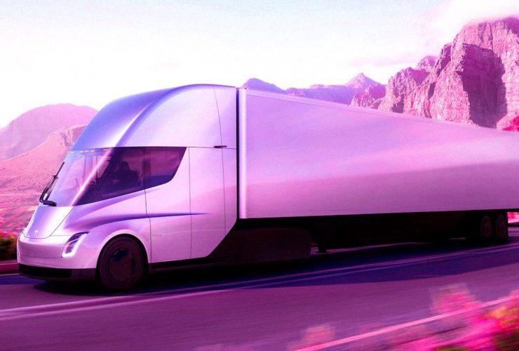 tesla semi truck kamyon tır üretimi