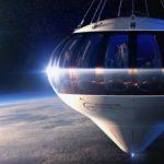 uzay balon seyahat
