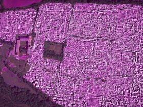 antik roma şehri radarla görüntülendi