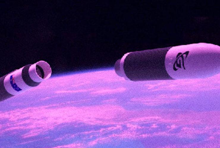 avustralya uzay