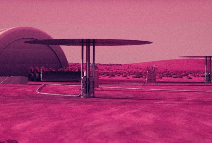 ay kolonisi nükleer enerji