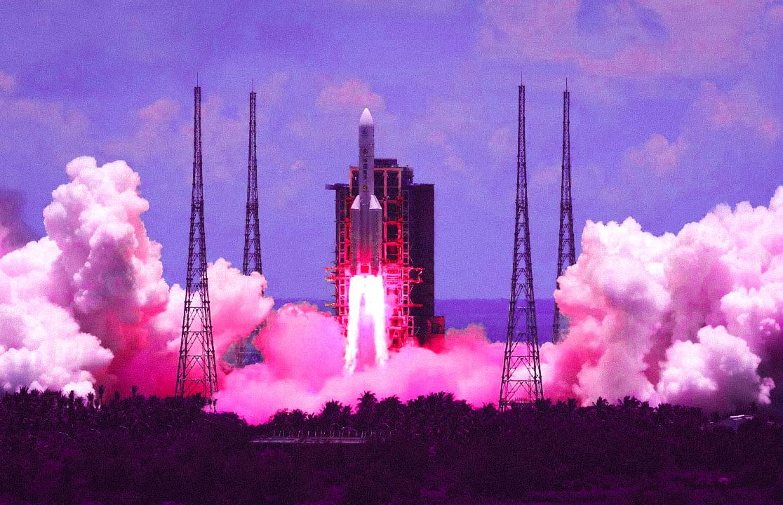 Çin Mars görevi roket