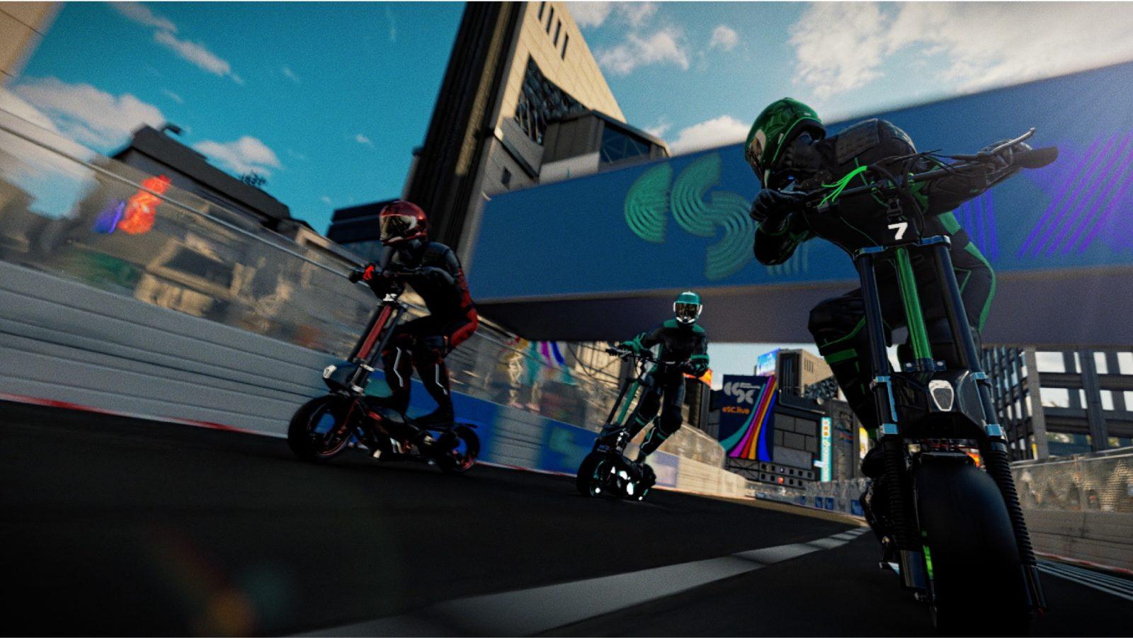 ESC elektrikli scooter yarışları