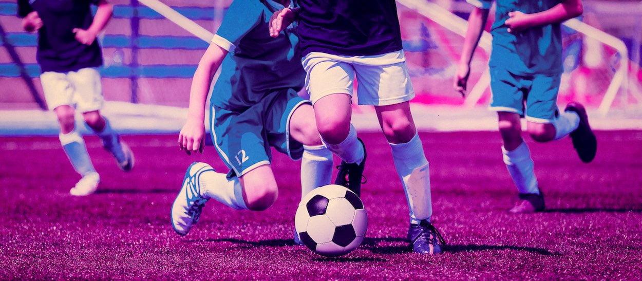 genç futbolcular