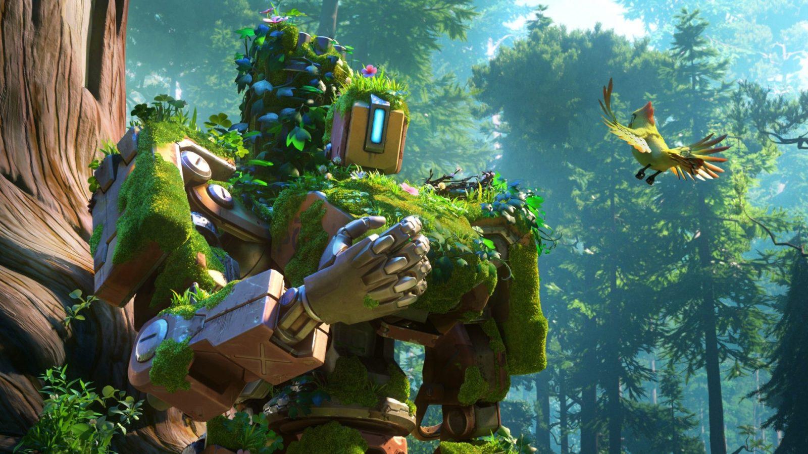 robot doğa