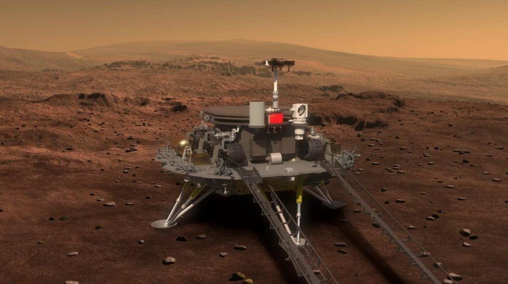 Tianwen-1 mars keşif aracı