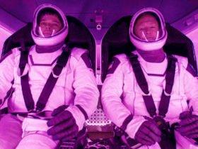 SpaceX Crew Dragon mürettebatı geri döndü