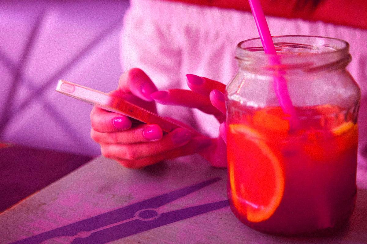 akıllı telefon alkol sarhoş