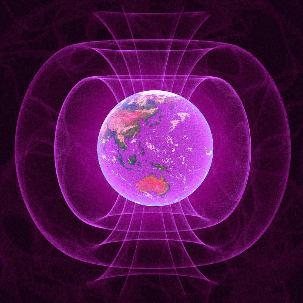 dünyanın manyetik alanı