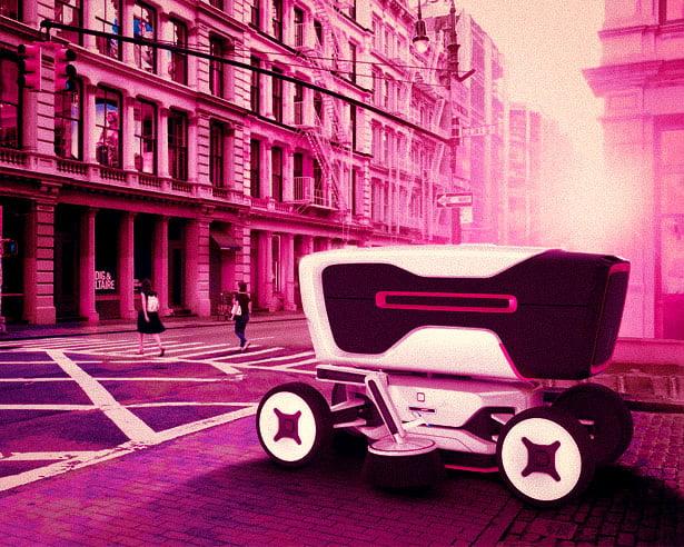 gelecekte sokakları robotlar temizleyecek