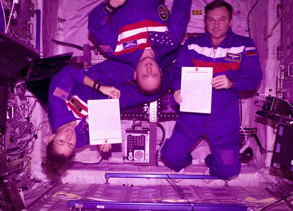 Uzayda İnsan Hakları